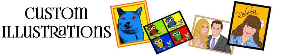 Custom Cartoon Illustrations From Your Digital Photograph