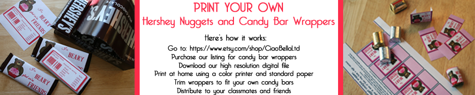 Print your own Hershey bar wrappers